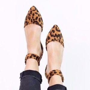Shoes - Ankle Wrap Flats